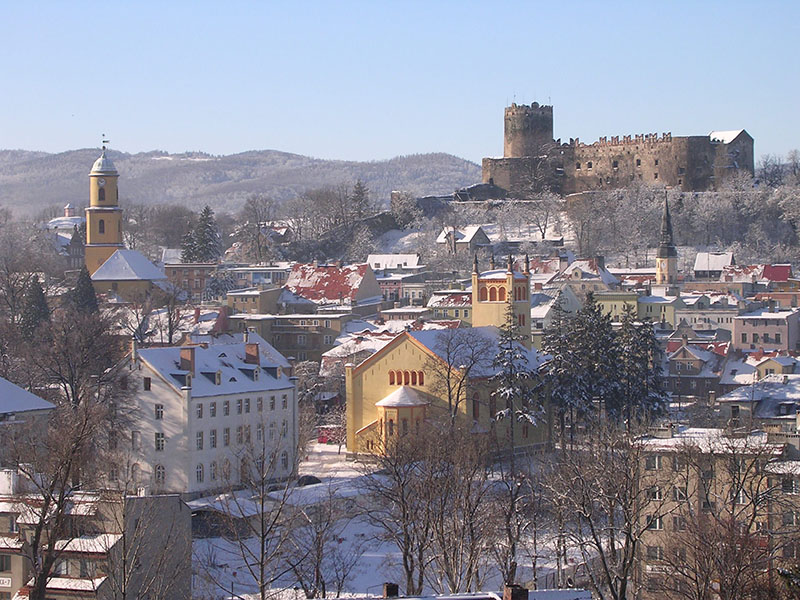panorama Bolkowa, widok z Góry Ryszarda