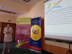 Współpraca Strefowego Klastra Edukacyjnego z CKU