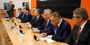 Uroczystość w PGE z udziałem Wiceminister Edukacji Narodowej Marzeną Machałek
