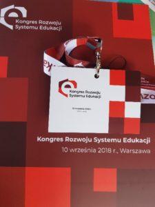 Kongres Rozwoju Systemu Edukacji w Warszawie