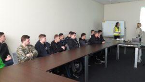 Wizyta studyjna uczniów ZSE w Bolesławcu