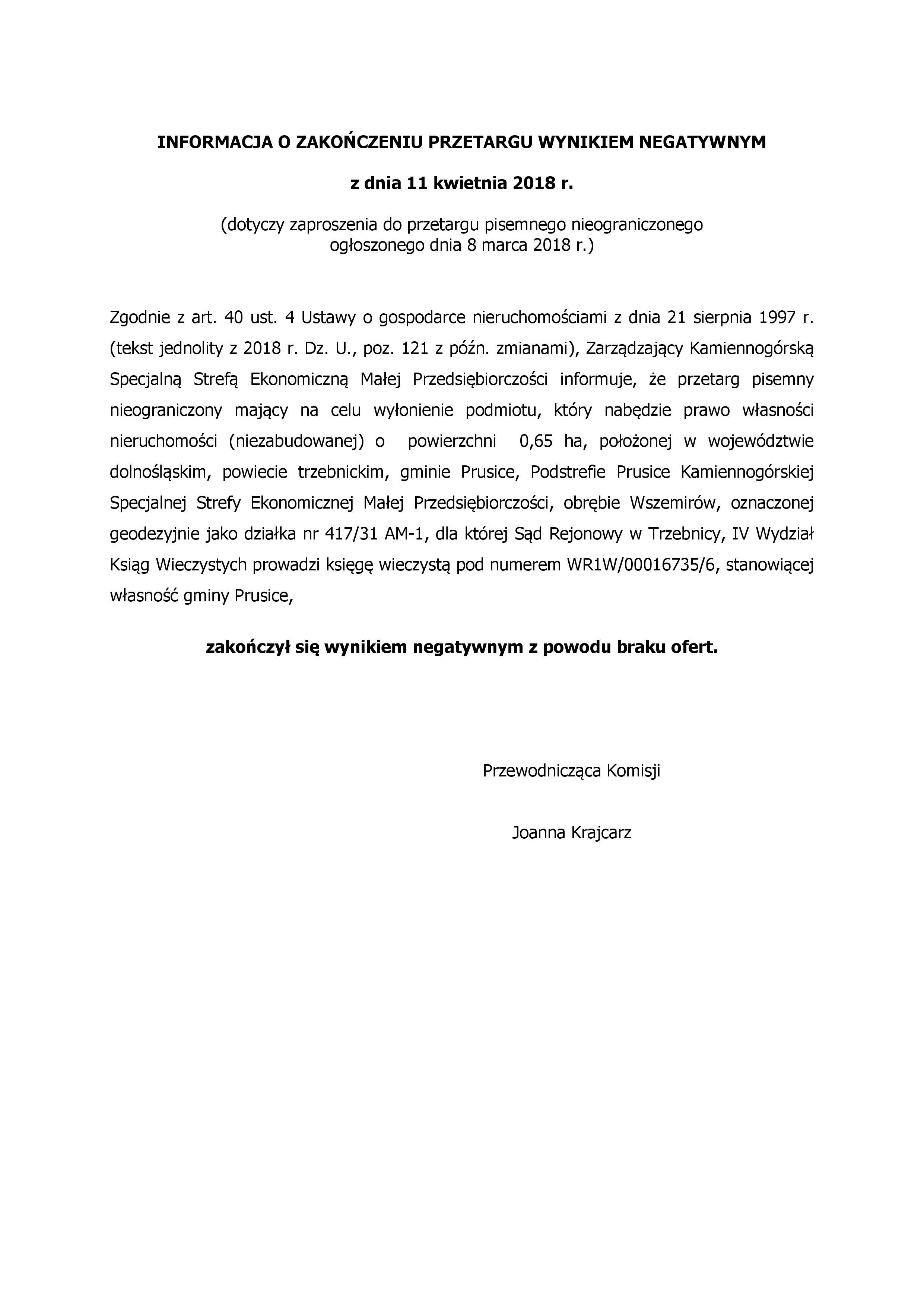 informacja Prusice
