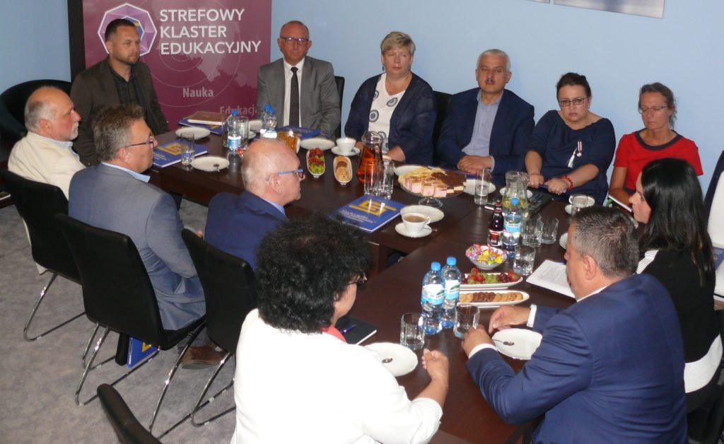 Spotkanie Rady Programowej Klastra Edukacyjnego przy SSEMP S.A.