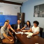 Spotkanie z przedstawicielami Stowarzyszenia Klaster Innowacyjnych Technologii w Wytwarzaniu CINNOMATECH